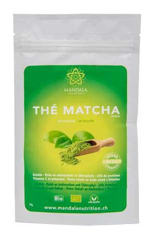 Thé Matcha en poudre