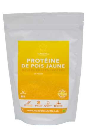 Protéine de pois jaune